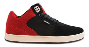 Championes Zoo York Black / Red - Inbox Store