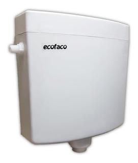 Cisterna De Baño Doble Descarga De Colgar Blanca