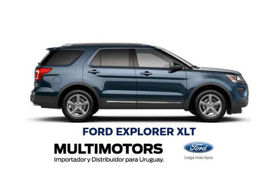 Ford Explorer Xlt- 3 Filas -entrega Ya -financiacion Tasa 0%