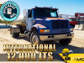 Camion Pipa De Agua International 12,000 Lts 1996, Pipas