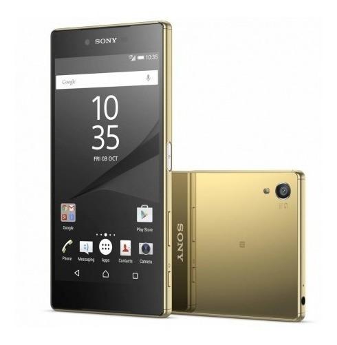 Celular Sony Xperia Z5 Premium E6833 Lte Dual Sim Dorado