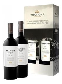 Vino Trapiche Reserva Pack X 2 Malbec