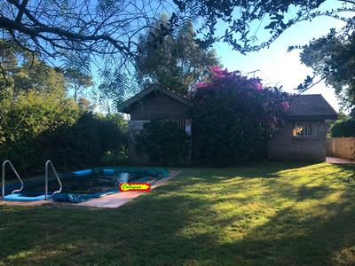 Cabaña En Atlantida Sur -2 Dorm-piscina-inmobiliaria Calipso