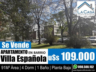 4 Dorm - Planta Baja De 91m2 - Centenario Iv