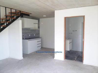 J.s. Duplex A Estrenar, Alquiler, 2 Dormitorios.