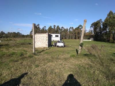 Amplio Terreno Con Mejoras En Joaquin Suarez A Mts Ruta 84