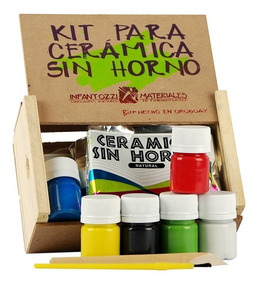 Kit Cerámica Sin Horno Infantozzi Materiales