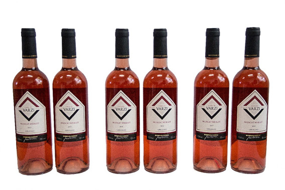 Casa De Varzi Caja De 6 Botellas Muscat Merlot