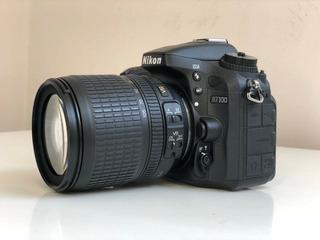 Camara Nikon D7100 Inmaculada Lente 18 105mm 10mil Disparos