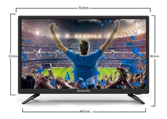 Tv 24 Led Panavox Usb/hd Modelo 24d3663, El Mejor Respaldo