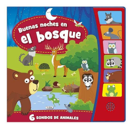 Libro Sonoro Buenas Noches - Bebés Y Niños