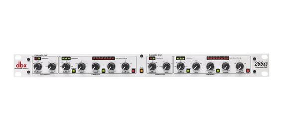 Compresor Dbx 266xsv Compresor Compuerta Stereo