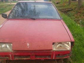 Citroen Bx Año 1993 4 Puertas, Rojo