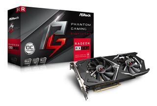 Tarjeta Video Asrock Phantom Gaming Radeon Rx580 8g Oc Ddr5