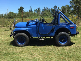 Jeep Cj5 4x4 Motor&caja Mercedes Benz Impecables. Liq Al 1ro