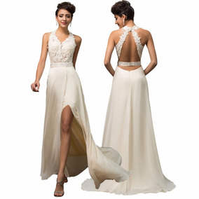 249809846 Vestidos De Noche Sencillos Y - Vestidos de Mujer en Mercado Libre ...
