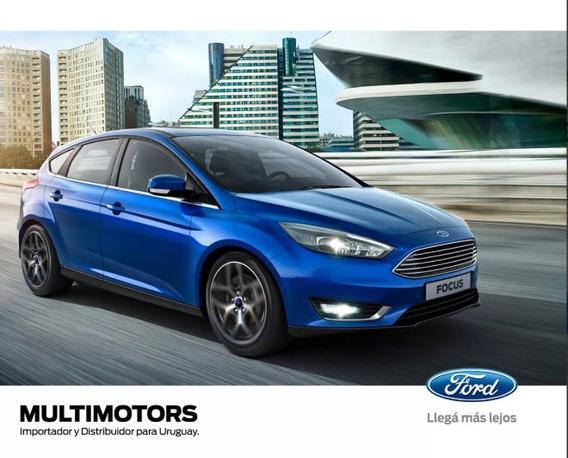 Nuevo Ford Focus S 1.6 2018 Desde U$s25.590