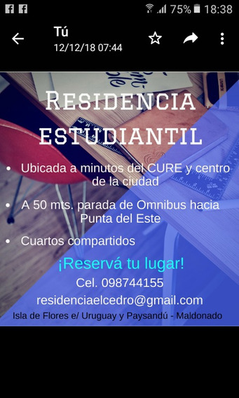Residencia Estudiantil En Maldonado