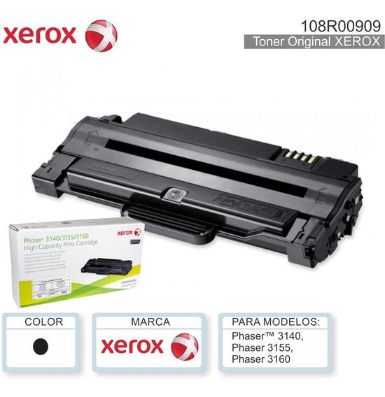 Recarga Del Cartucho 3140/3155/3160 De Xerox