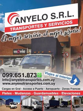 Anyelo Transportes Fletes Mudanzas Elevaciones Gurdamuebles