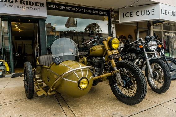 Royal Enfield 500cc Año 2013 Con Sidecar