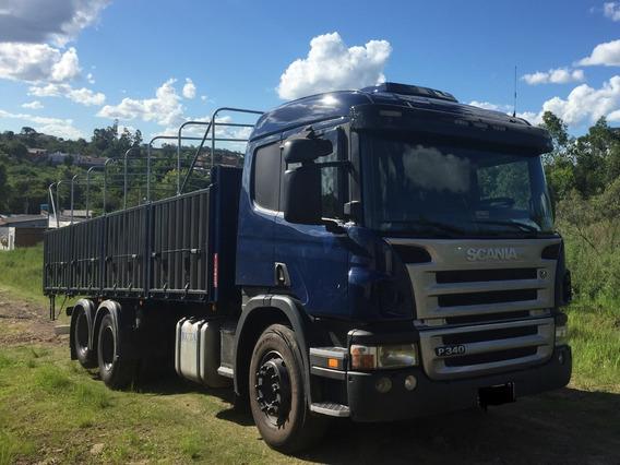 Scania P340 Doble Eje + Zorra Excelente Estado Como Nuevo