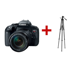 Camara Canon Eos Rebel T7i Wifi Nfc 1080p Con Lente 18/135mm