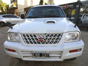 Mitsubishi L200 2.5 4x4 D/c 2002