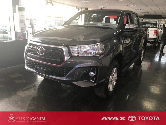 Toyota Hilux Srv 4x4 Full Diesel 2019 Gris Oscuro 0km