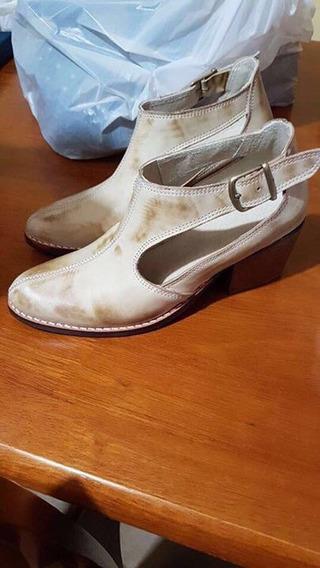 Zapatos De Cuero Nacional