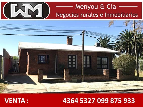 Venta Casa Trinidad Flores 3 Dormitorios Con Patio Y Cochera