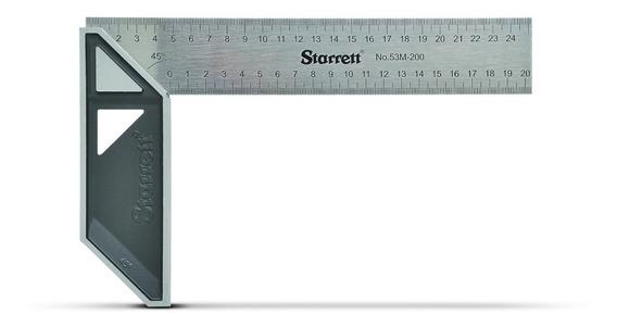 Escuadra Carpintero Acero Inoxidable Starrett 250mm 10
