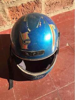 Casco Integral Grande Winner Azul