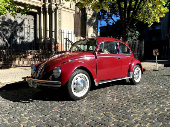 Volkswagen Fusca Alemán 1500 Año 1970.
