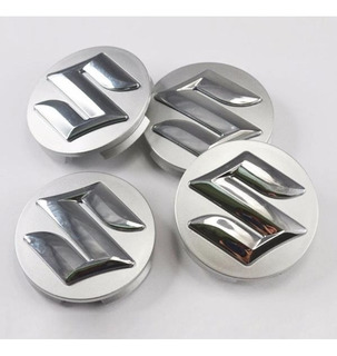 Tapa Llanta Suzuki Logo Para Llanta Suzuki 52mm Jgo X 2u
