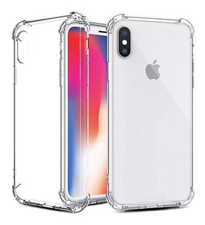 Protector Case Bordes Reforzados iPhone 6, 7, 8, X, Xs, Xr!!