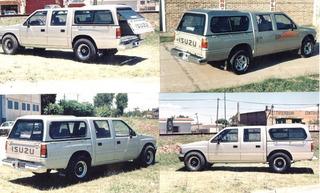 Cúpula Alta Tronador Isuzu Rodeo Doble Cabina