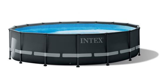 Piscina Estructural Ultra Xtr Intex 488x122, Acuarela