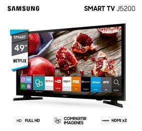 Smart Tv Led Samsung 49 J5290 Full Hd Navegador Wifi -ltc