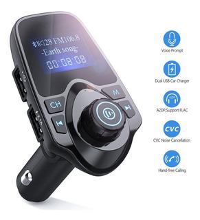 Transmisor Fm Auto Bluetooth Usb Sd Aux Manos Libre Lidertek