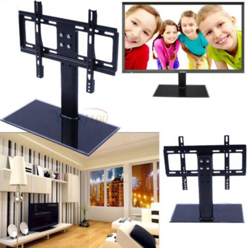 Universal Lcd Mesa Tv Stand Pedestal Base Pared Montaje Apto