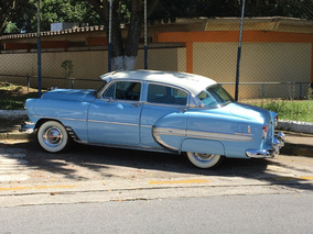 Chevrolet/gm Bel Air 1954 - Placa Preta