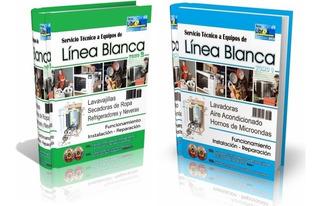 Libros Digitales Reparación De Línea Blanca 1 Y 2- Pdf - Dvd