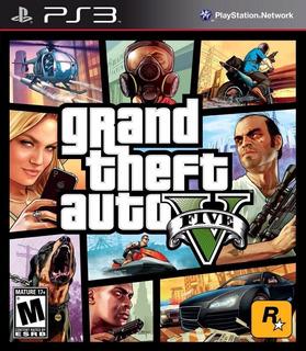 Grand Theft Auto 5 Gta V Juego Ps3 Original Español Online