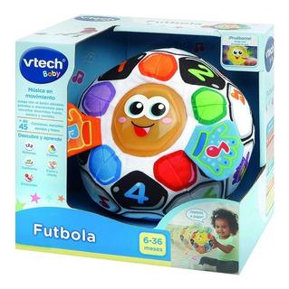 Balon De Futbol Blanda Para Bebe Vtech 45 Melodias Y Sonido