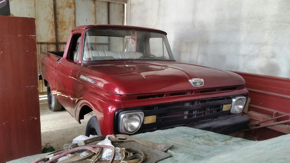 Ford F-100 Cabina Larga