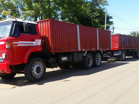 Ford 1414 Con Scania 112 Enganchado