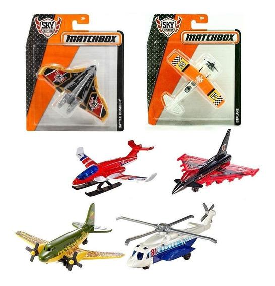 Sky Busters Matchbox Aviones