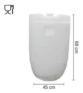 Tankes 100 Lts. - De Plásticos. Con 1 Tapón. 2 Unid.
