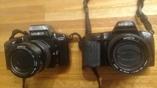 Dos Cámaras 35mm Profesionales Marca Minolta